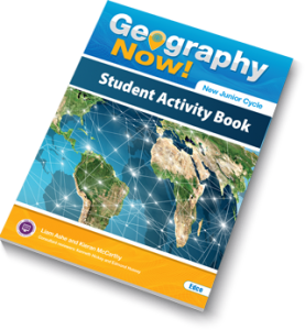Geography Now! Student Activity Book Cover