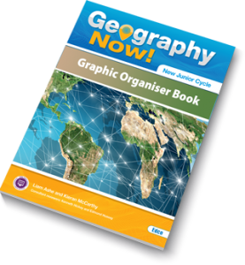 Geography Now! Graphic Organiser Book Cover