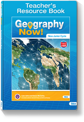 Geography Now! Resource Book Cover